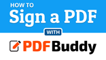 How to sign a PDF file
